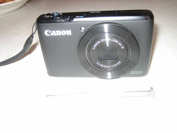Canon Powershoot S200 Display Replacement