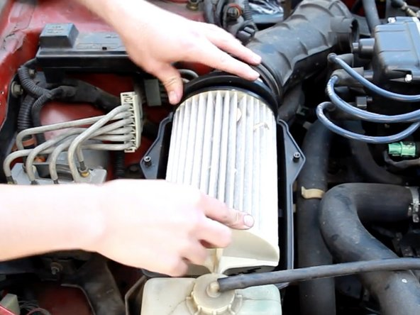 1994-2001 Acura Integra Engine Air Filter Replacement