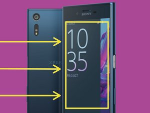 How to prevent cracks on the screen Sony Xperia XZ