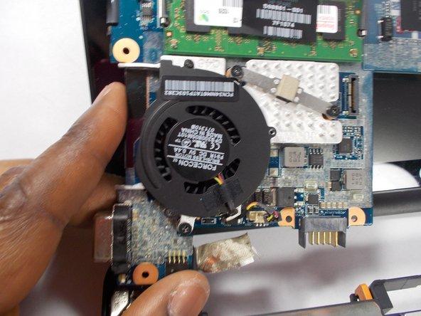 HP Mini 210 Fan Replacement