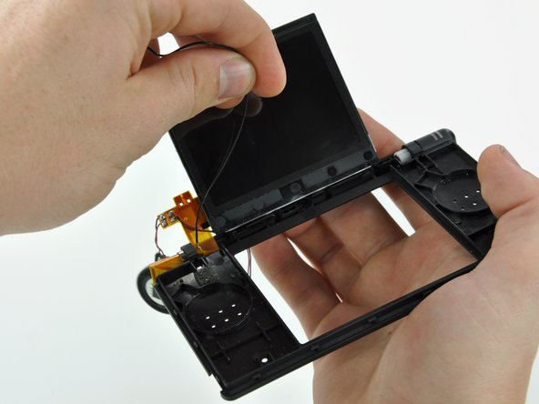 Remove the Wi-Fi antenna from the display assembly.