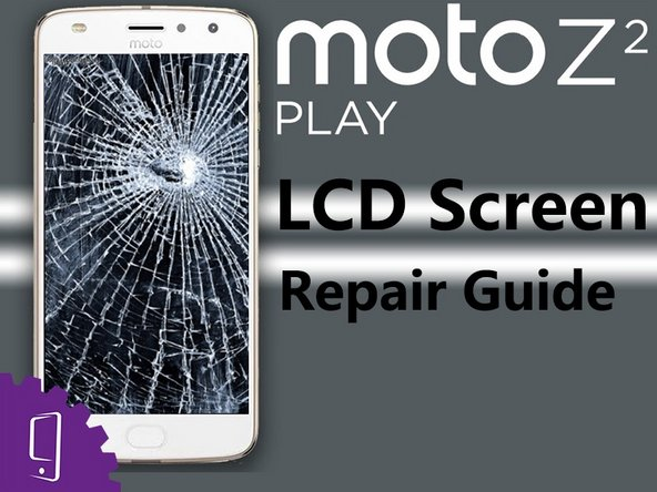Moto Z2 Play LCD screen with digitizer Replacement