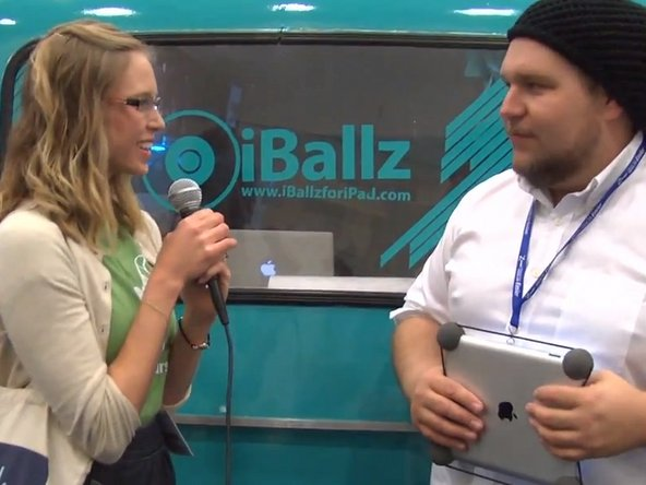 Speaking with iFixit users at Macworld