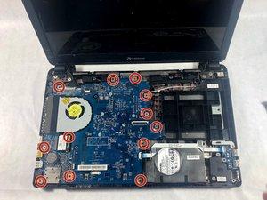 Gateway NE52214U Motherboard Replacement