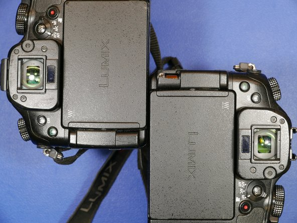 Of the six GH3 cameras and two GH4 cameras I have owned, more than half of the cameras exhibit broken LCD hinge covers. Panasonic heavily reused the design of the Lumix GH3 in the GH4 and many mechanical parts and assemblies are shared between the cameras. The hinge cover is one of them.