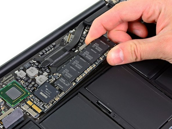 "MacBook Air 11"" Mid 2012 Solid-State Drive Replacement"