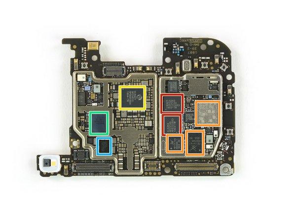 HiSilicon Hi6363-GFCV100 RF transceiver