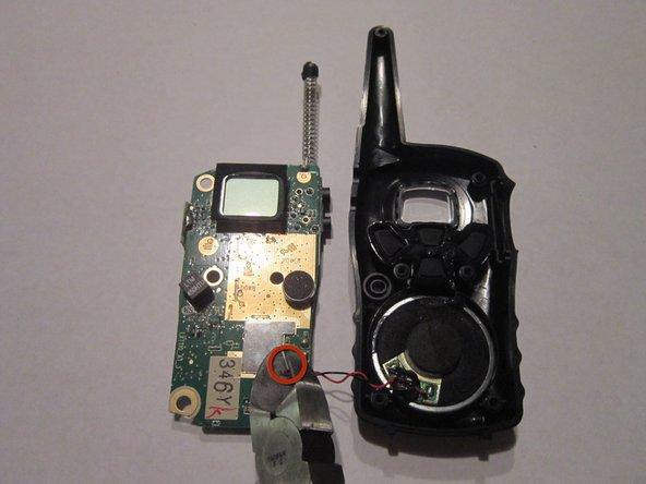 Remove the old or broken circuit board from the front case.