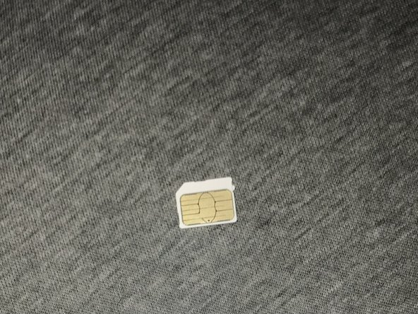 Grab the new SD card making sure not to touch the metallic area.
