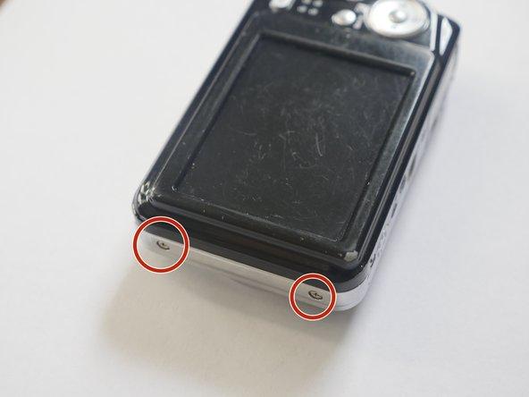Remove exterior Screws