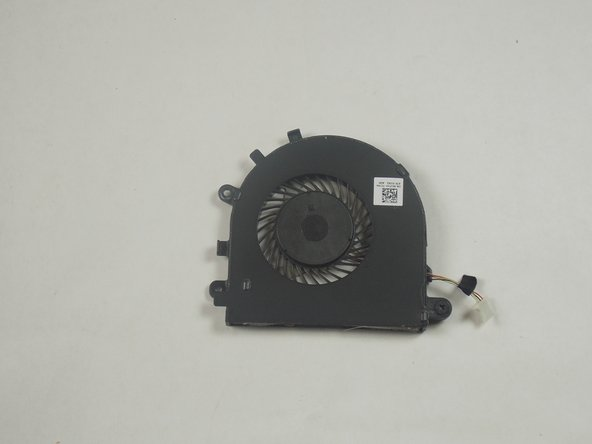Dell Inspiron 15-7547 CPU Fan Replacement