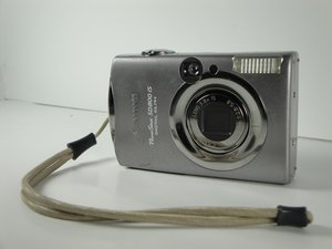 Canon PowerShot SD800 IS Repair