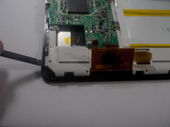 Separate the whole assembly from the screen, being careful and ensuring you removed everything necessary.