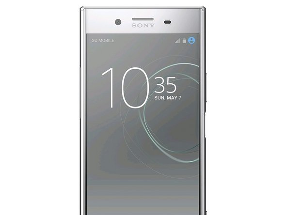 How to apply gorilla glass on the Sony Xperia XZ Premium