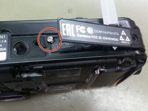 Remove two Philips screws from the bottom cover, lift gently the cover and remove the single Philips screw under it.