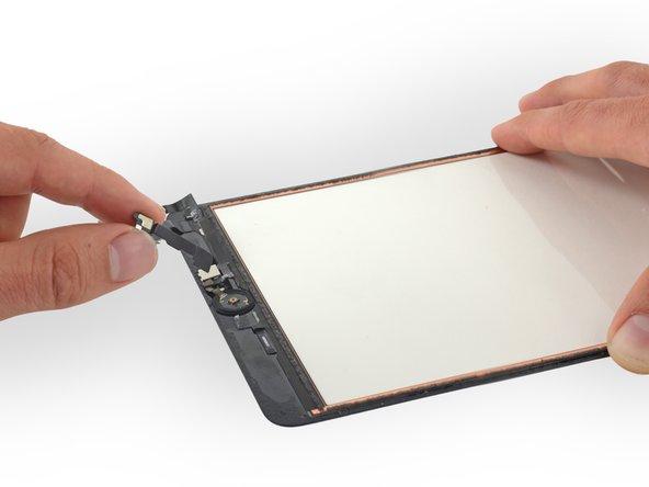 ホームボタンブラケットを元に戻すときは、十分な接着力を確保するために接着剤または強力な両面テープを使用してください。