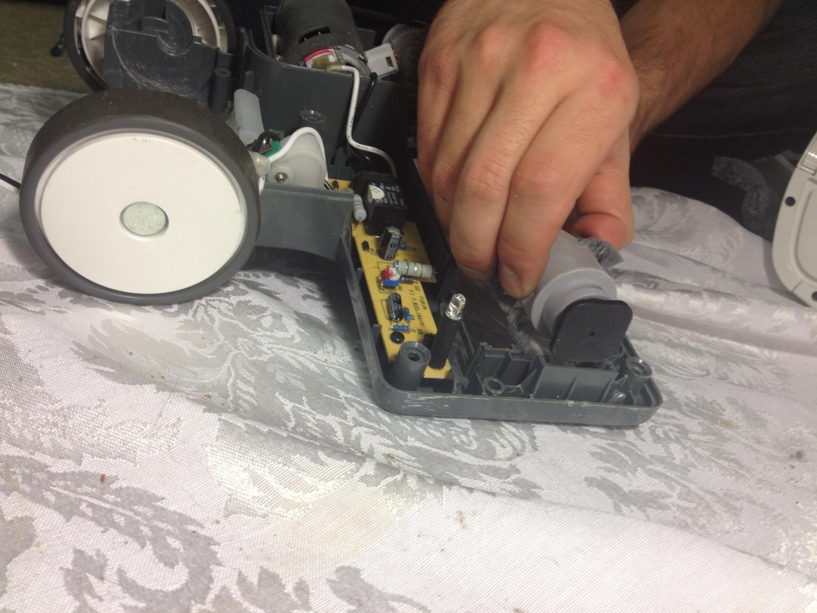 shark navigator roller brush replacement ifixit repair guide. Black Bedroom Furniture Sets. Home Design Ideas