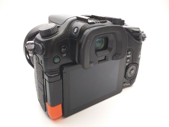 Panasonic Lumix DMC-GH3 LCD Hinge Cover Replacement