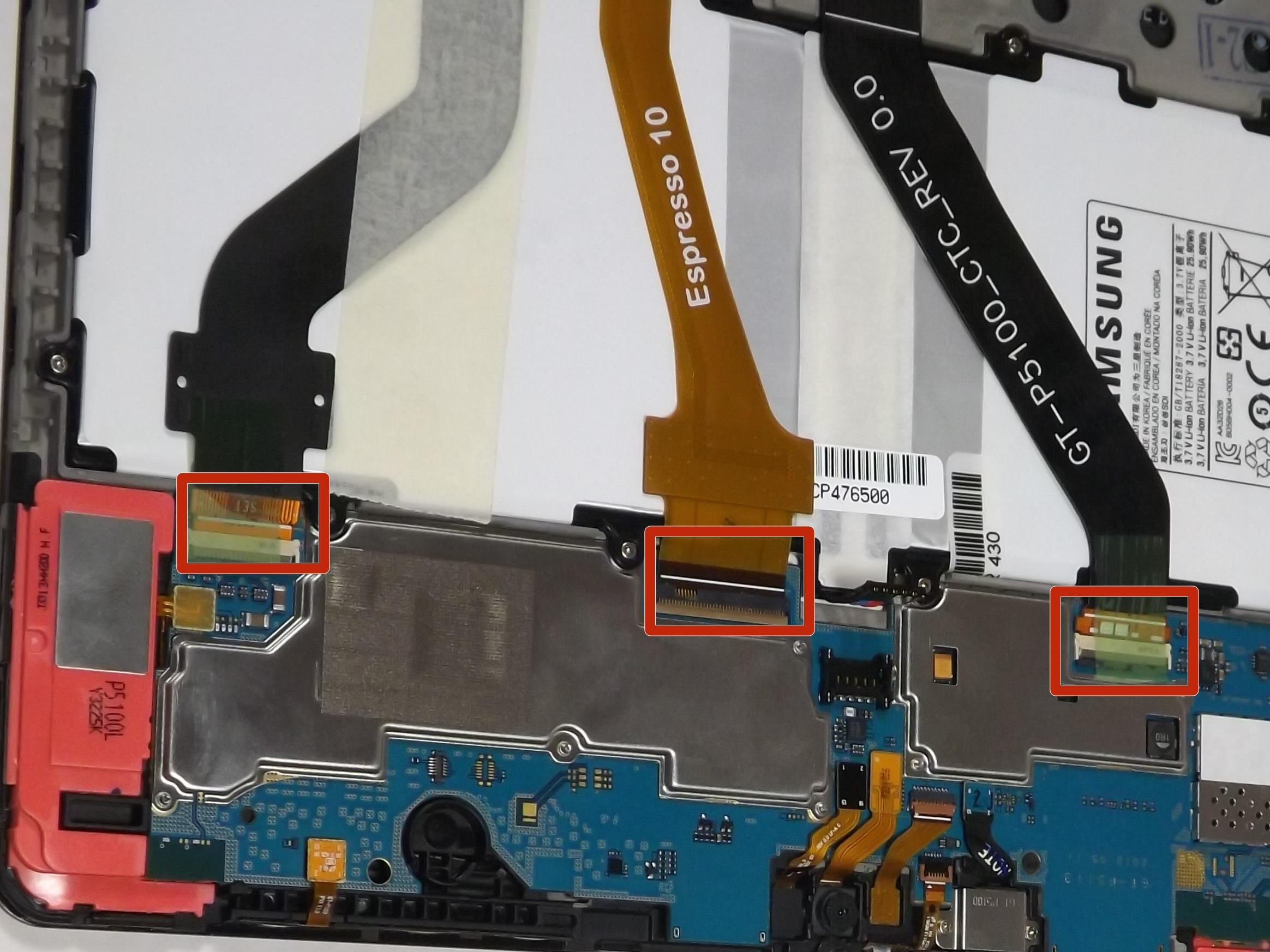 Samsung Galaxy Tab 2 101 Repair Ifixit Sgh G810 Service Manual Battery