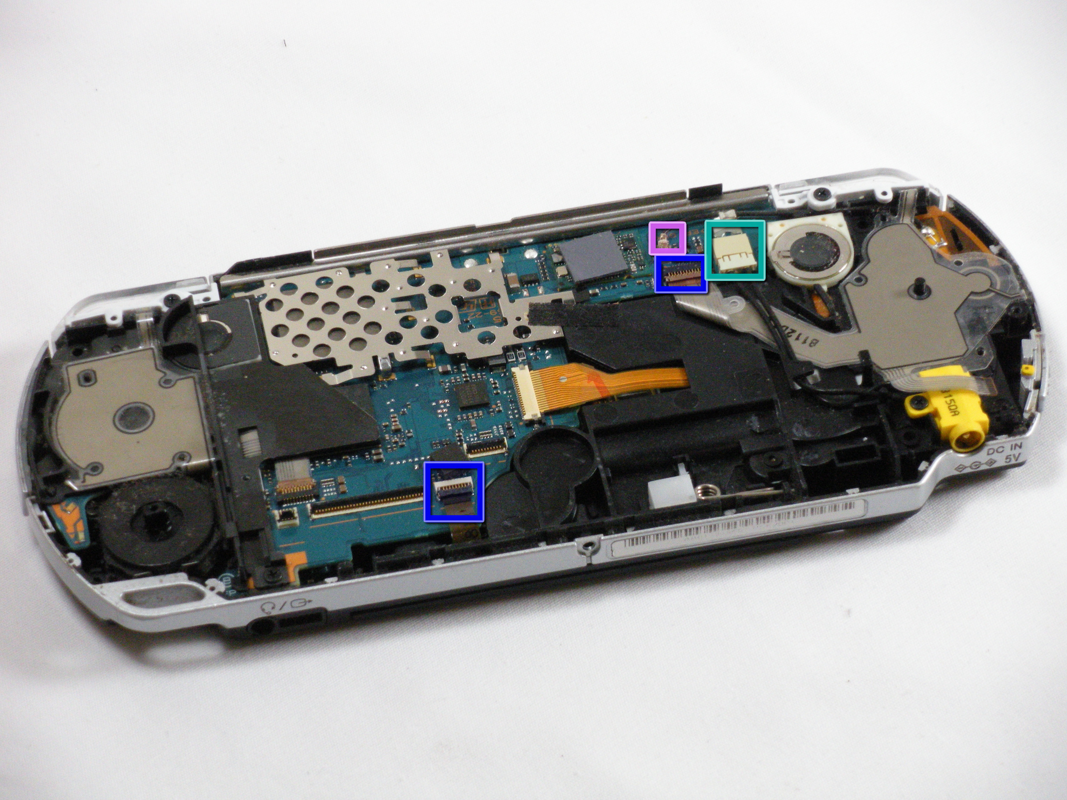psp 2000 logic board replacement ifixit repair guide. Black Bedroom Furniture Sets. Home Design Ideas