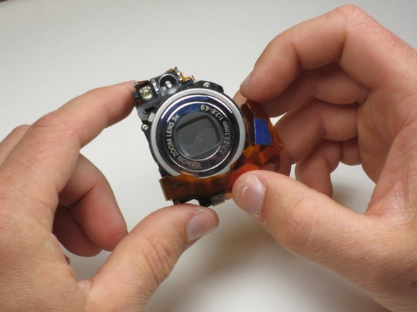 You have now successfully removed the Canon PowerShot SD550 Lens Assembly.