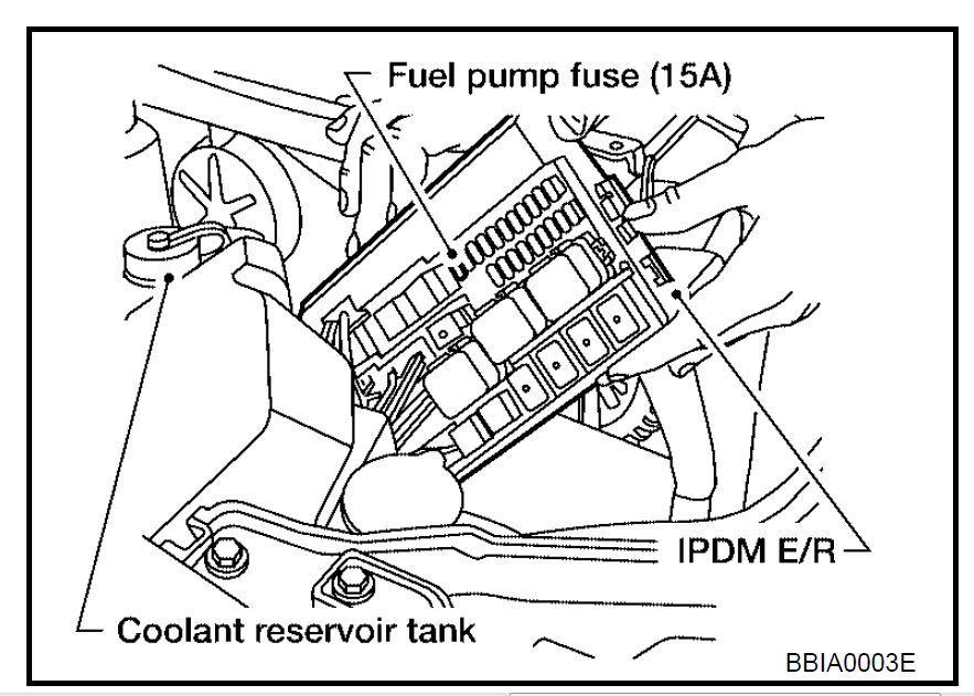 03 altima fuel pump wiring