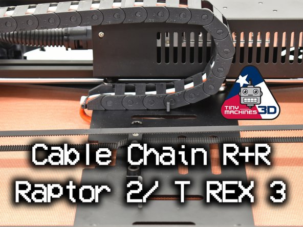 Raptor 2 / T REX 3 Cable Chain Update