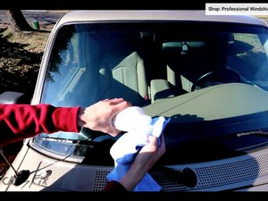 How to Repair a Windshield Chip or Crack