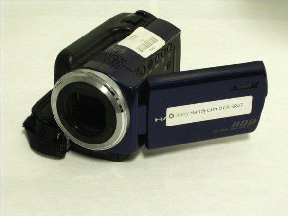 Sony Handycam CCDTR317 Service Manual