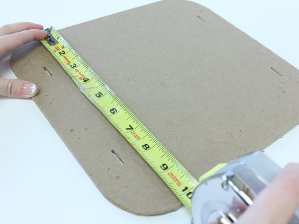 Measure the seat to fit fabric and padding to the seat.