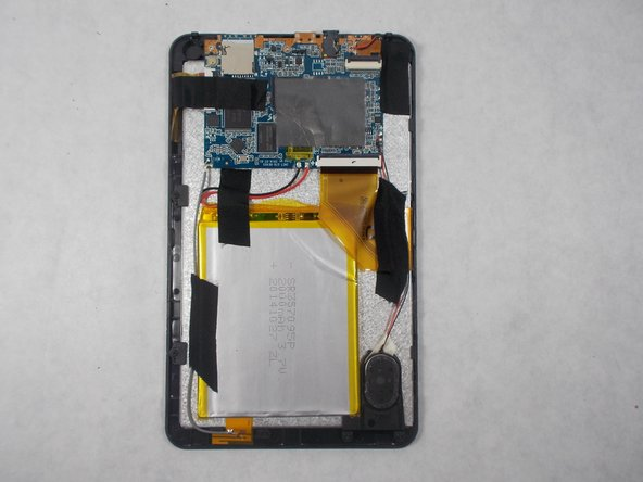 Image 1/1: Make sure to inspect your tablet for any damage from prying off the back panel of your panel.