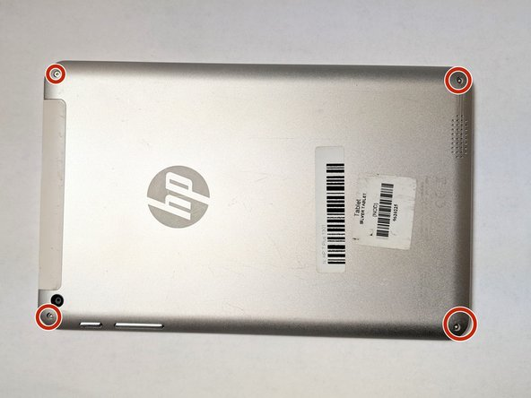 HP 7 PLUS 1301 Front and Back Camera Replacement
