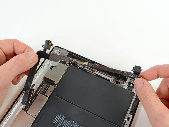 iPad 4 GSM Kopfhöreranschluss-Platine austauschen