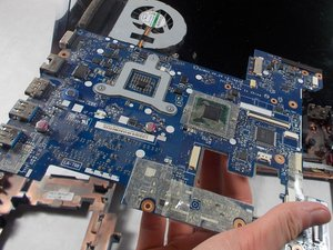 Lenovo IdeaPad N580 Motherboard Replacement