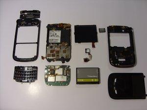 Blackberry Bold 9650 Teardown
