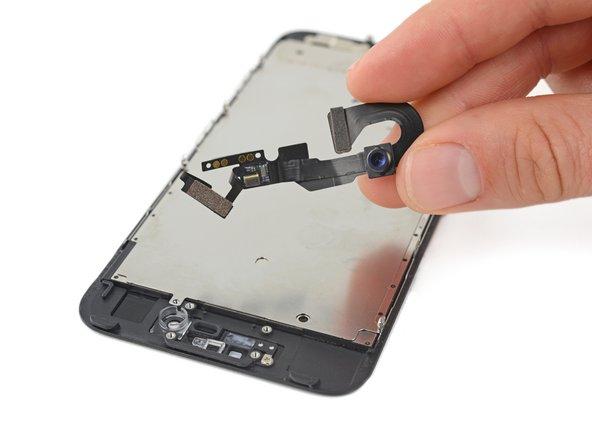 Reemplazo de cable de sensor y cámara frontal del iPhone 7
