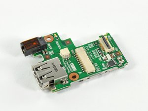HP Mini 1000 USB & Power Board Replacement