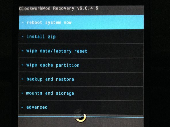 From your bootloader screen, toggling the volume buttons will offer functions like Start, Power Down, Restart Bootloader, and usually … Recovery. Pressing the Power button generally executes the displayed function.