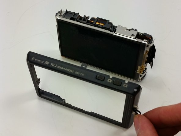 Sony Cyber-shot DSC-TX7 Back Cover Replacement