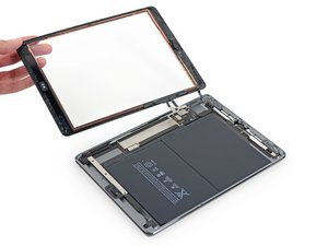iPad 5 Wi-Fi Front Panel Assembly Replacement