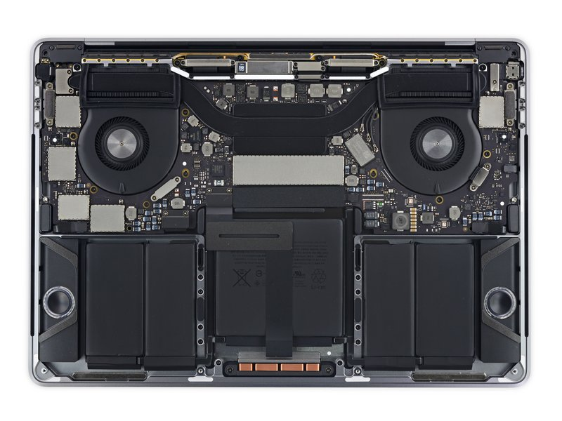 Touch Bar MacBook Pro teardown