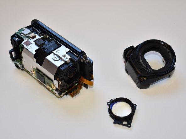 Canon Vixia HF R62 Lens Replacement