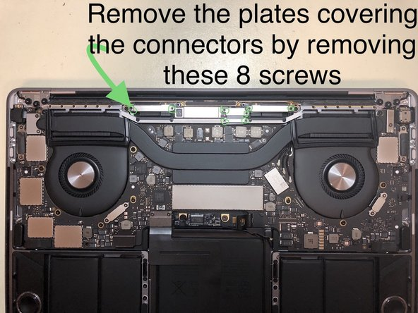 to remove antenna bar, start by removing the 12 screws located above the left/right heat sink vents.