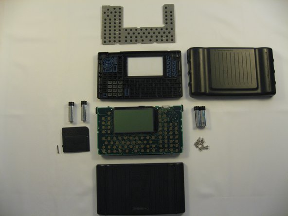The device has now been separated into as many component parts as intended by the manufacturer.