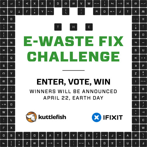 iFixit Kuttlefish E-Waste Challenge