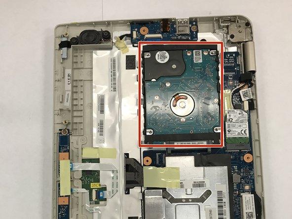 Toshiba Satellite L15W-B1320 Hard Drive Replacement
