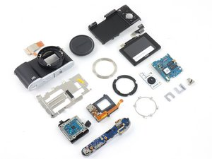 Disassembling Samsung NX3000
