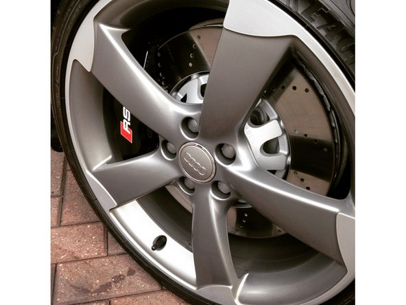 Install your brake pads and hardware reverse of how you removed.