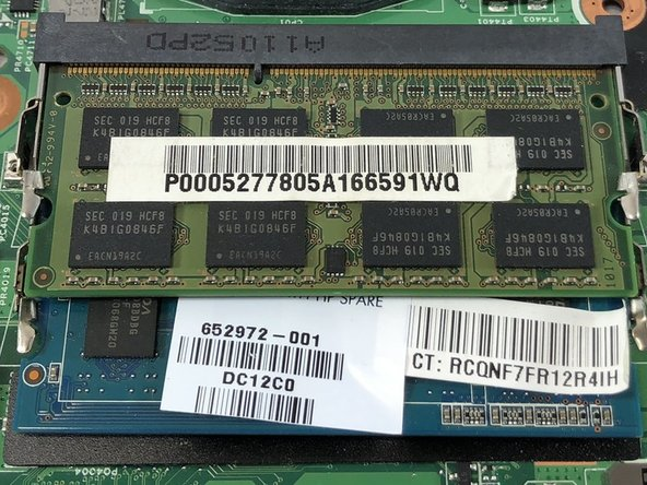 Dell Vostro 3550 RAM Replacement