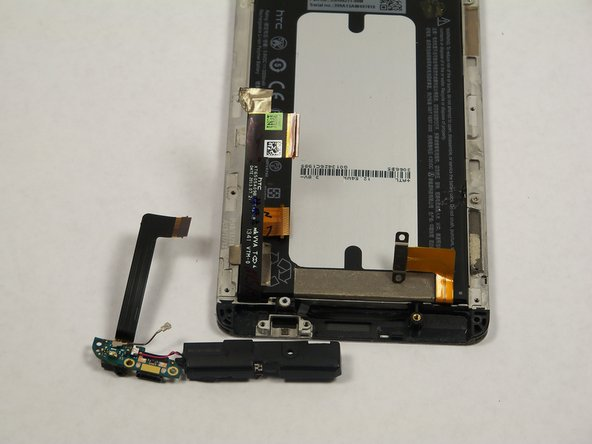 HTC One Max Microphone and Speaker Assembly Replacement